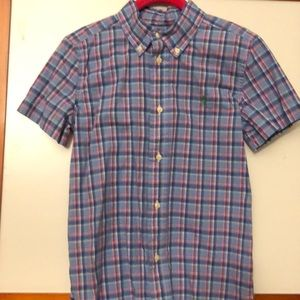Ralph Lauren button down boys shirt size 6